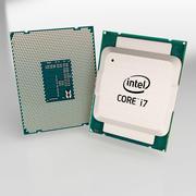 intel i7 processor 3d model