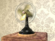 Fan Hareket Bulanıklığı 3d model
