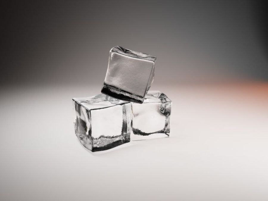 ice cube royalty-free 3d model - Preview no. 2