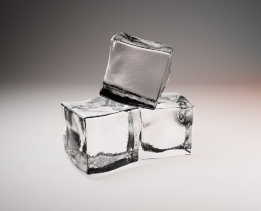 ice cube royalty-free 3d model - Preview no. 1