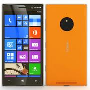 诺基亚Lumia 830橙色 3d model