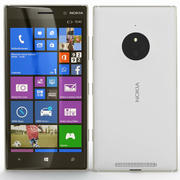 诺基亚Lumia 830白色 3d model