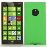 诺基亚Lumia 830绿色 3d model