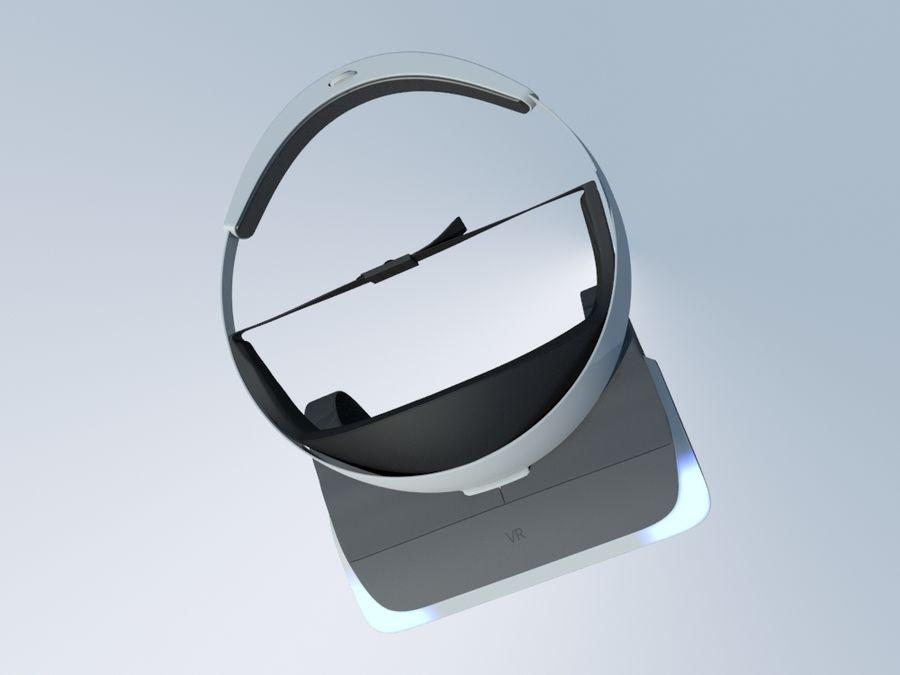 VR Gözlük royalty-free 3d model - Preview no. 6
