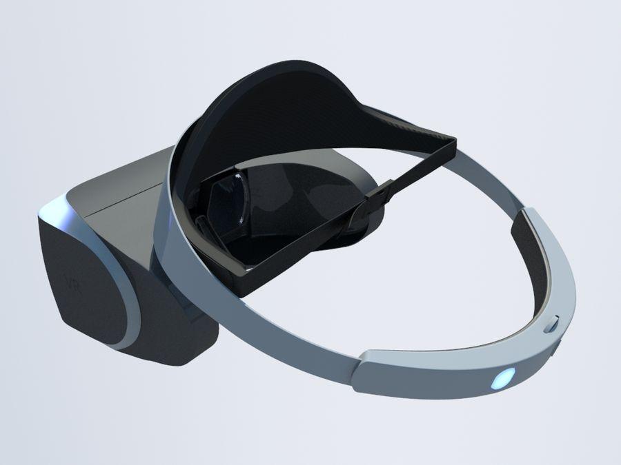 VR Gözlük royalty-free 3d model - Preview no. 4