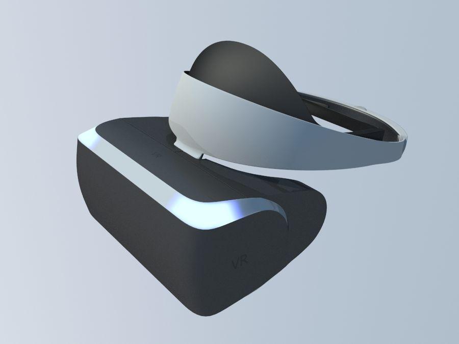 VR Gözlük royalty-free 3d model - Preview no. 1