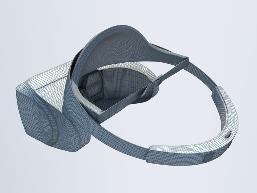 VR Gözlük royalty-free 3d model - Preview no. 8