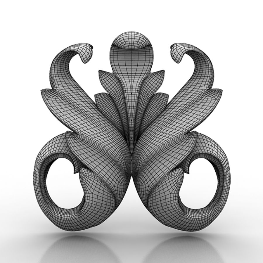 Architectural Elements 73 royalty-free 3d model - Preview no. 4