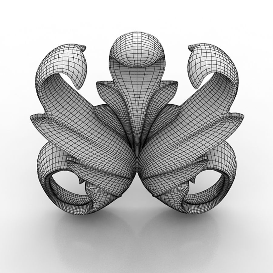 Architectural Elements 73 royalty-free 3d model - Preview no. 6