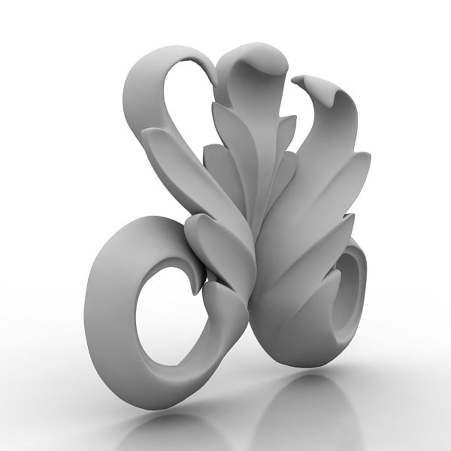 Architectural Elements 73 royalty-free 3d model - Preview no. 2