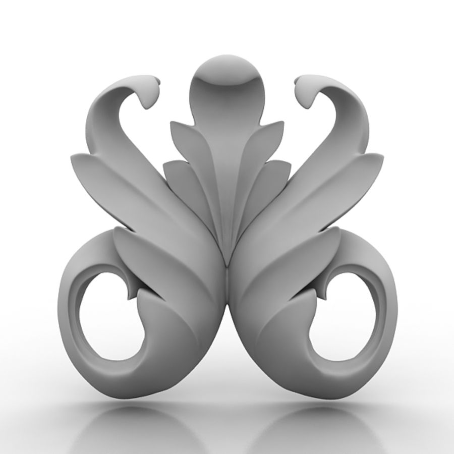 Architectural Elements 73 royalty-free 3d model - Preview no. 1