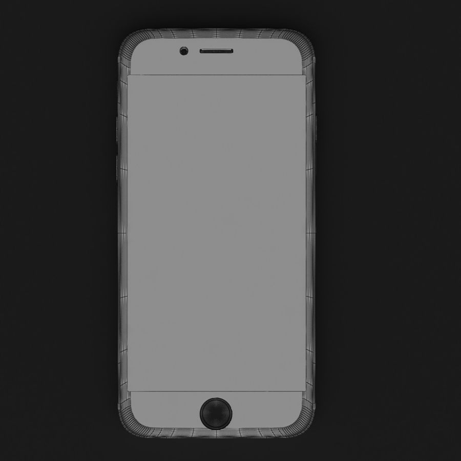 Apple iPhone 6 Gold royalty-free 3d model - Preview no. 10