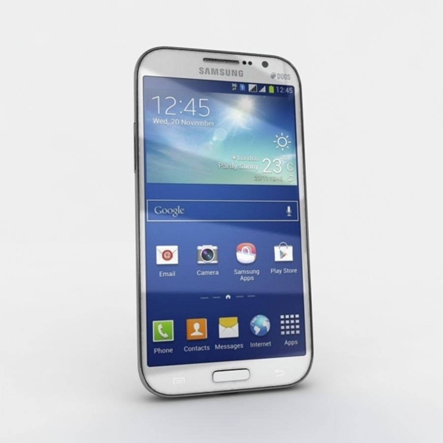 samsung galaxy grand neo royalty-free 3d model - Preview no. 5