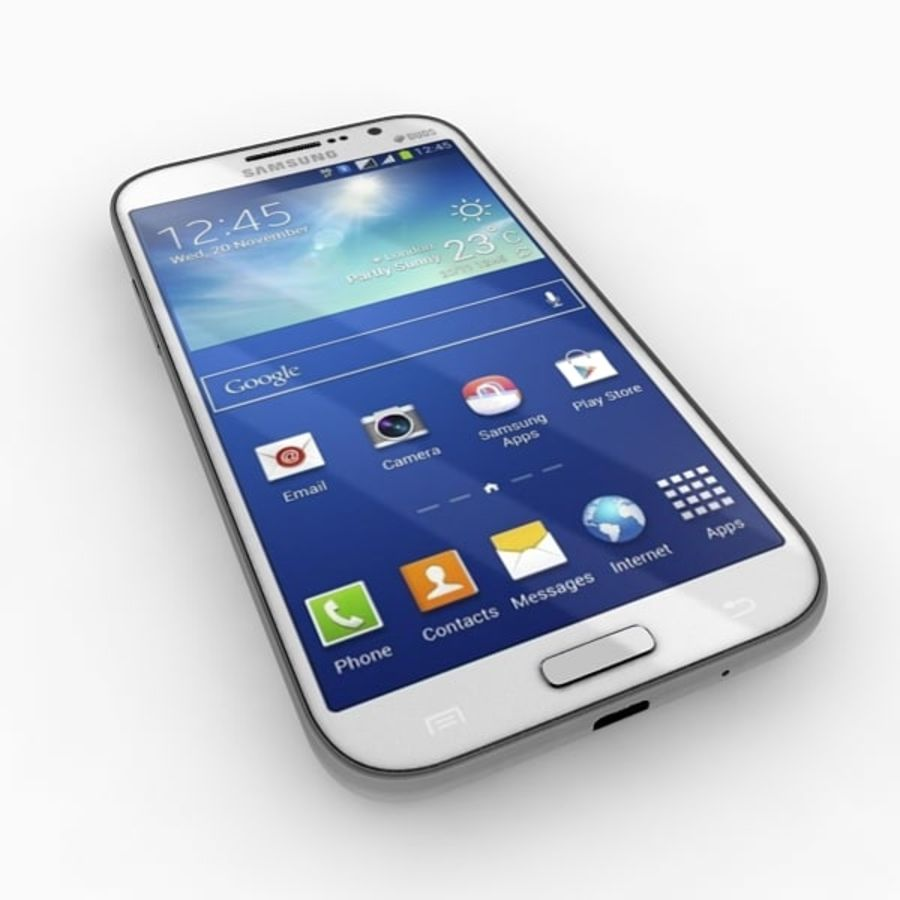 samsung galaxy grand neo royalty-free 3d model - Preview no. 9