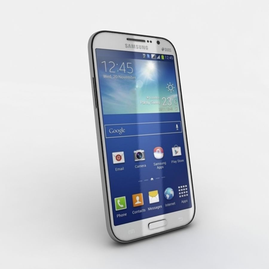samsung galaxy grand neo royalty-free 3d model - Preview no. 2