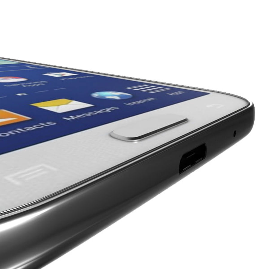 samsung galaxy grand neo royalty-free 3d model - Preview no. 6