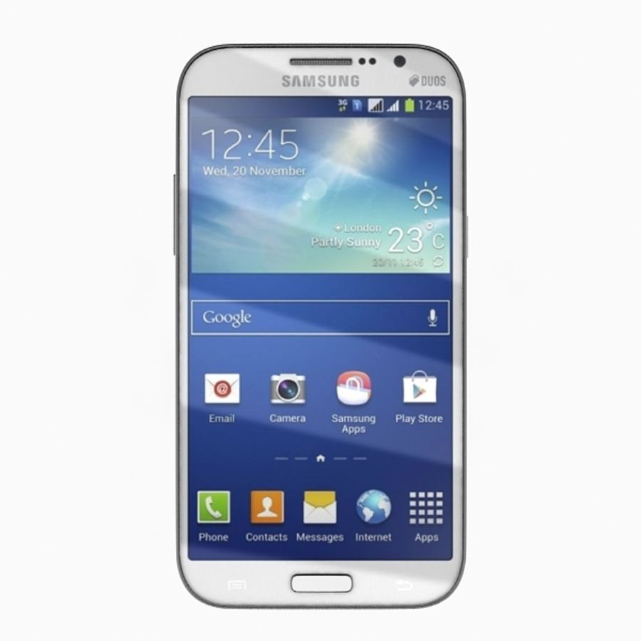 samsung galaxy grand neo royalty-free 3d model - Preview no. 11