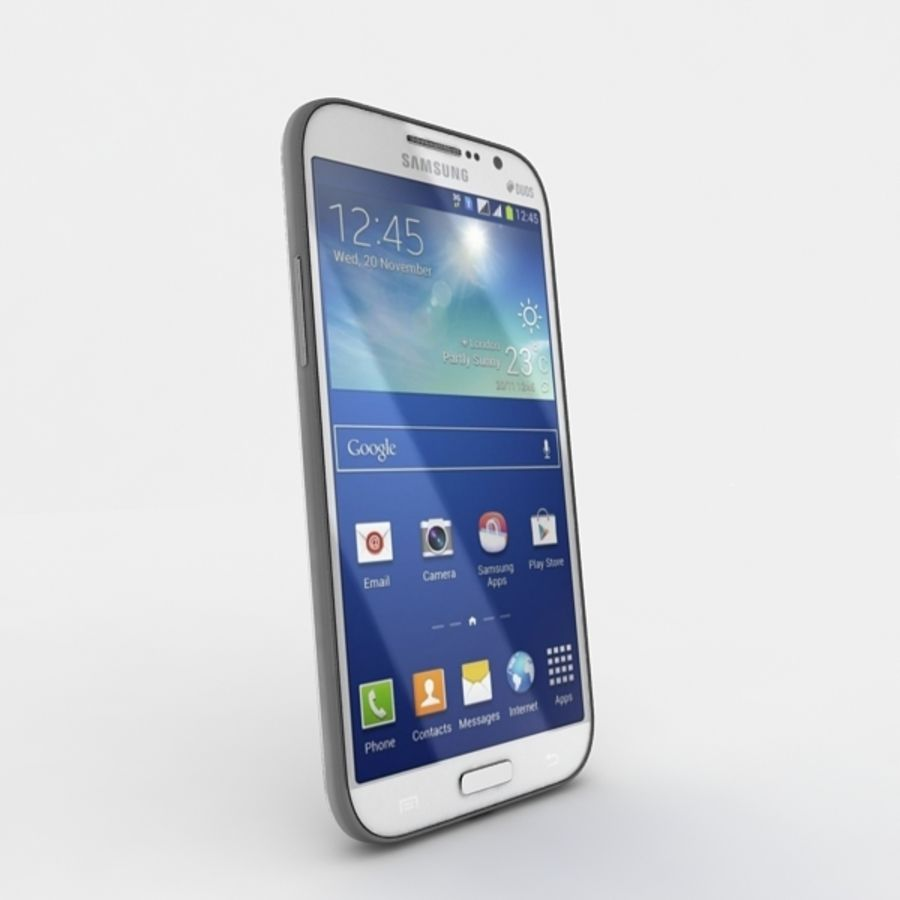 samsung galaxy grand neo royalty-free 3d model - Preview no. 3