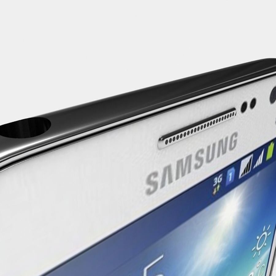 samsung galaxy grand neo royalty-free 3d model - Preview no. 8