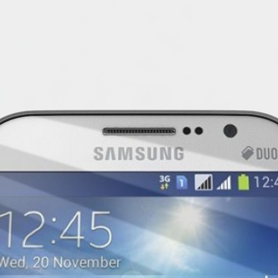 samsung galaxy grand neo royalty-free 3d model - Preview no. 7