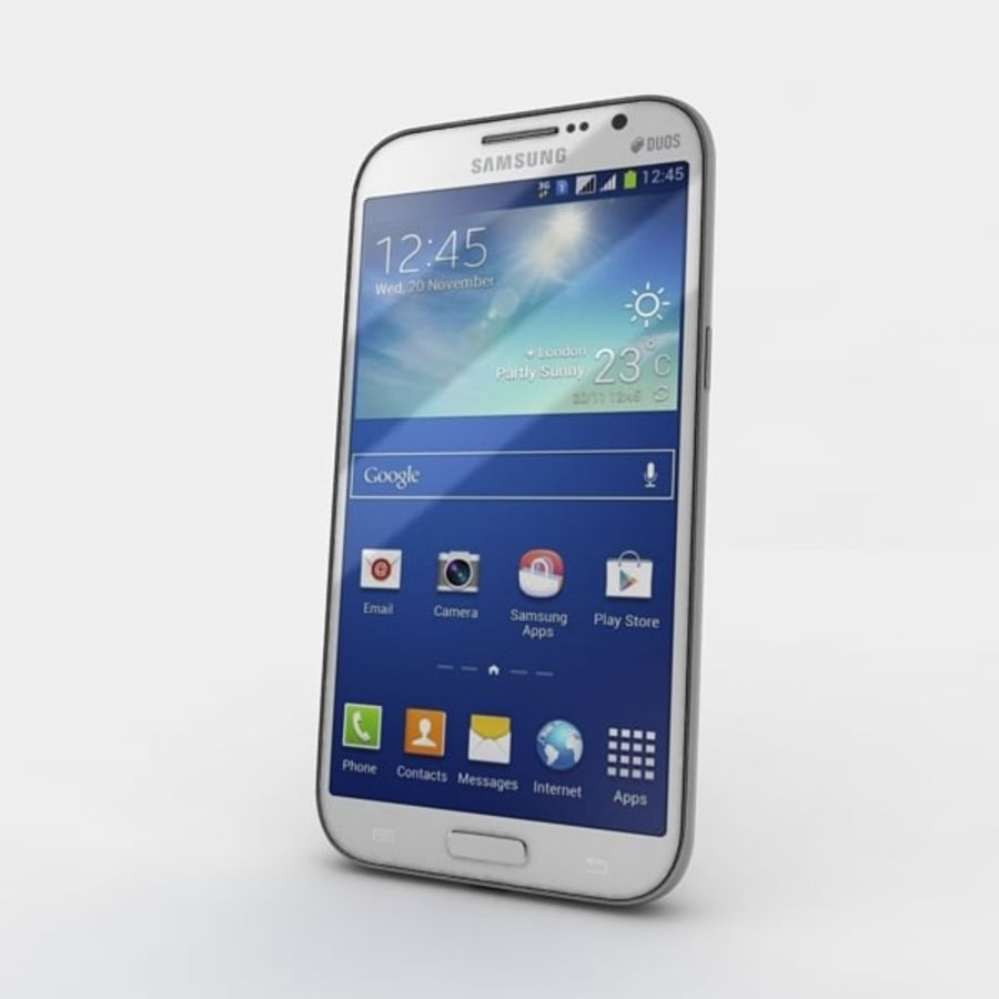 samsung galaxy grand neo royalty-free 3d model - Preview no. 4