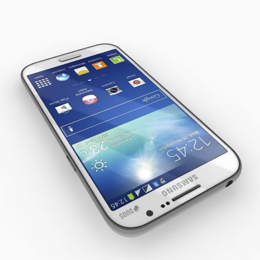 samsung galaxy grand neo royalty-free 3d model - Preview no. 10