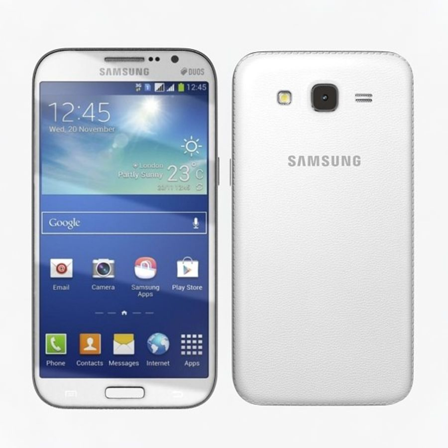 samsung galaxy grand neo royalty-free 3d model - Preview no. 1