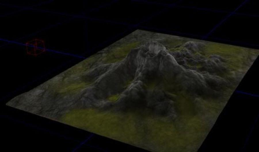 Berg royalty-free 3d model - Preview no. 2