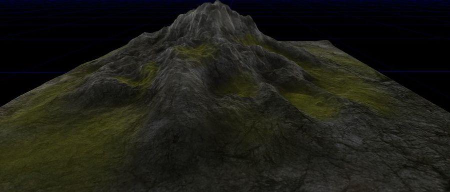 Berg royalty-free 3d model - Preview no. 3