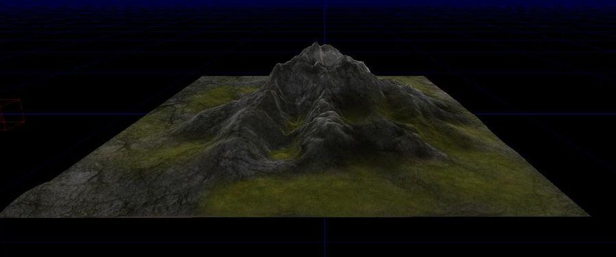 Berg royalty-free 3d model - Preview no. 4
