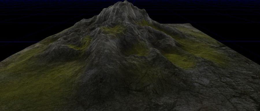 Berg royalty-free 3d model - Preview no. 5