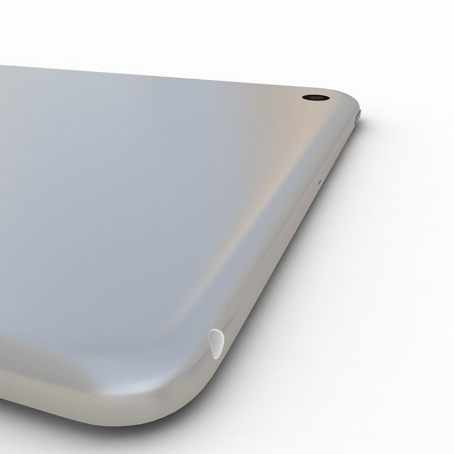 Apple iPad Mini 3 Silver royalty-free 3d model - Preview no. 19