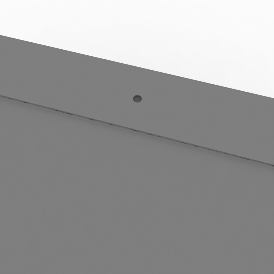 Apple iPad Mini 3 Silver royalty-free 3d model - Preview no. 13