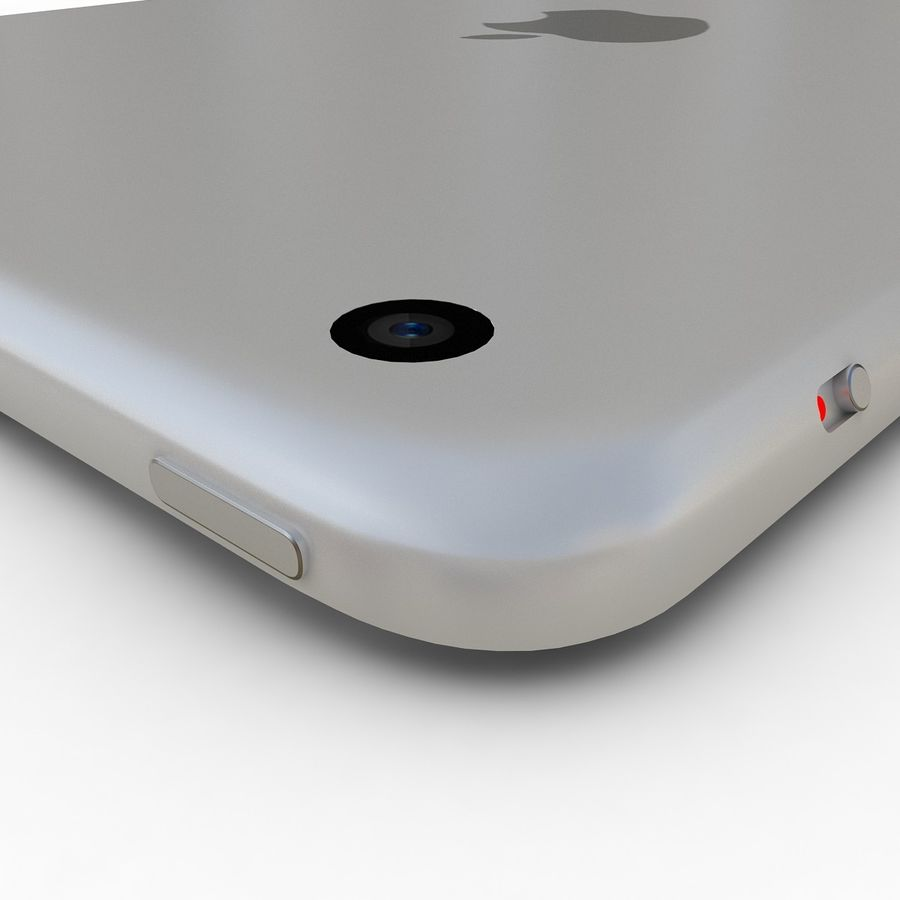 Apple iPad Mini 3 Silver royalty-free 3d model - Preview no. 18