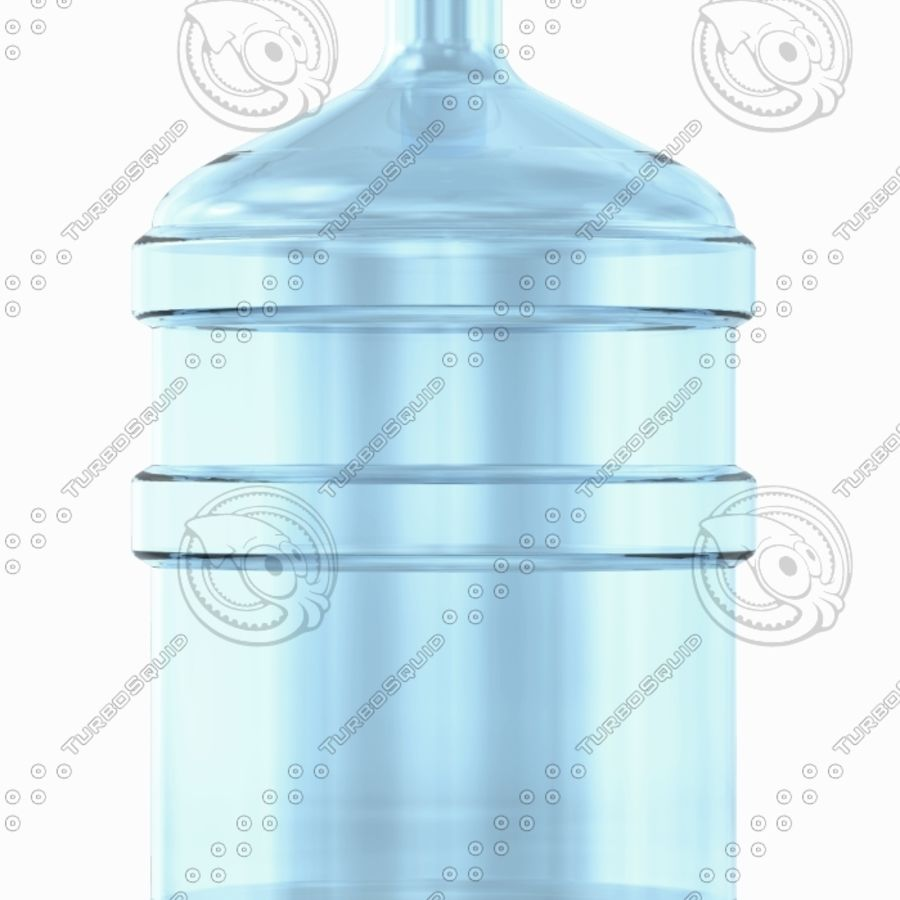 Water Bottles royalty-free 3d model - Preview no. 5