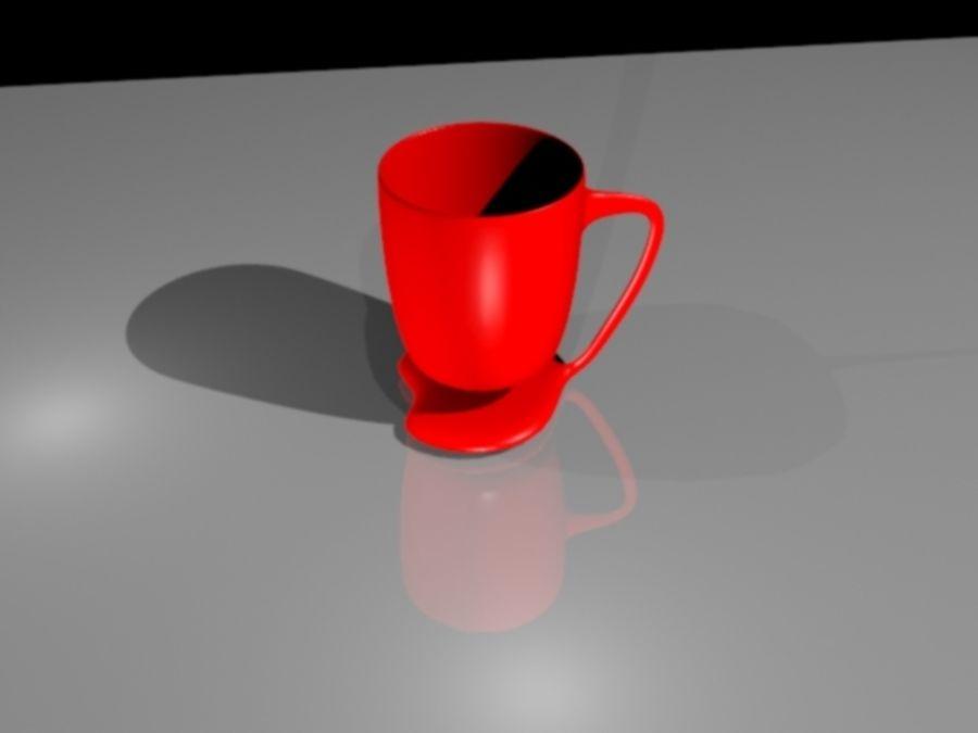 taza de san valentín royalty-free modelo 3d - Preview no. 3