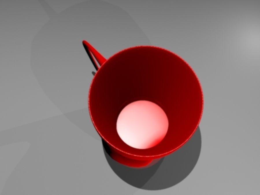 taza de san valentín royalty-free modelo 3d - Preview no. 5