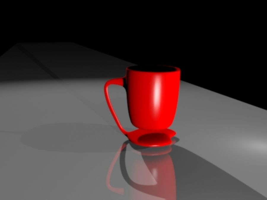 taza de san valentín royalty-free modelo 3d - Preview no. 7