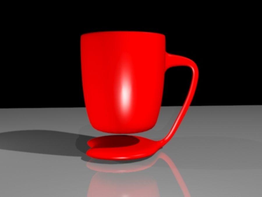 taza de san valentín royalty-free modelo 3d - Preview no. 2