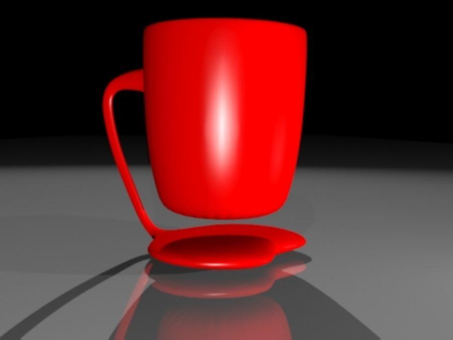 taza de san valentín royalty-free modelo 3d - Preview no. 1