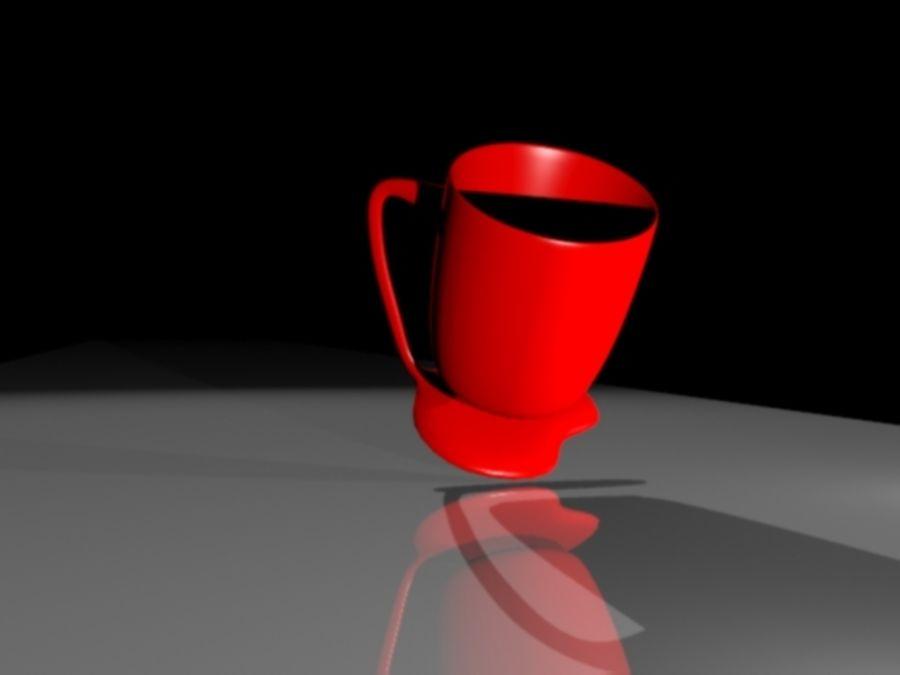 taza de san valentín royalty-free modelo 3d - Preview no. 6