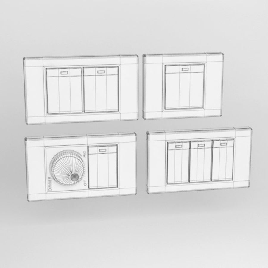 Switch001 royalty-free 3d model - Preview no. 6