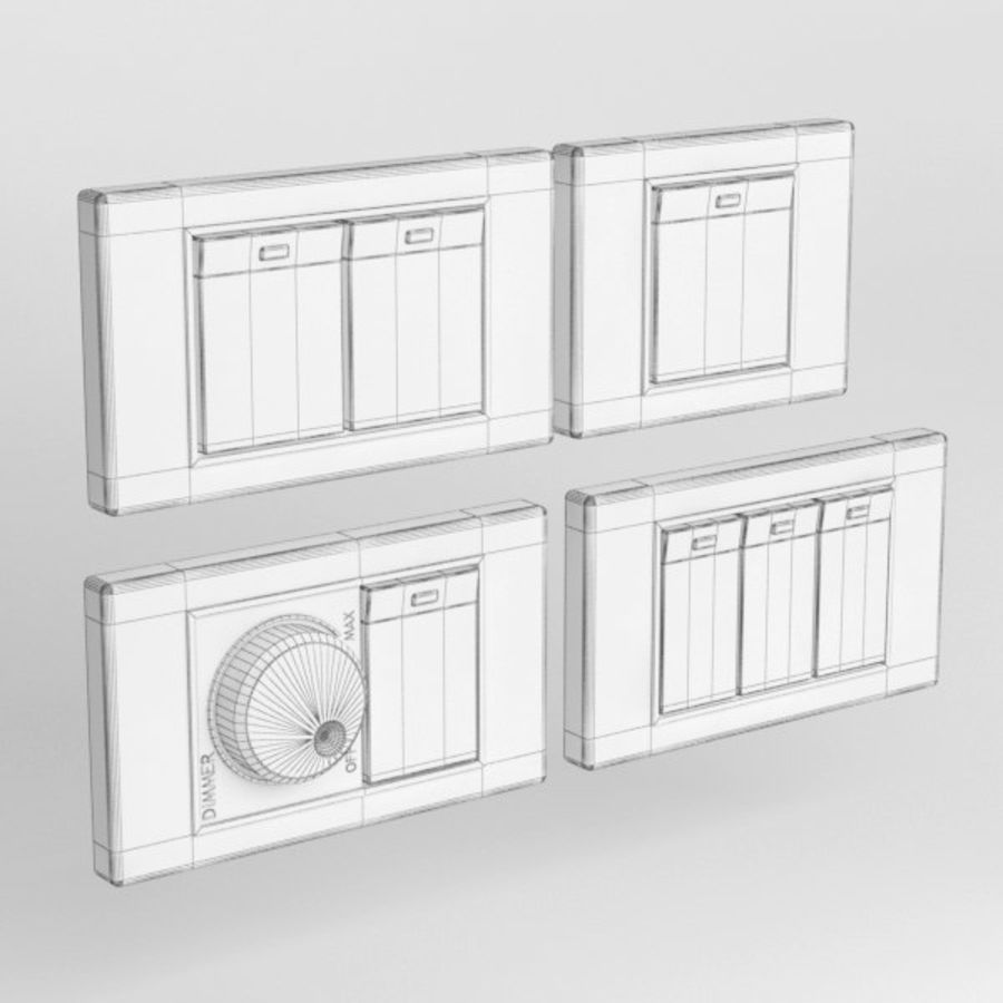 Switch001 royalty-free 3d model - Preview no. 5