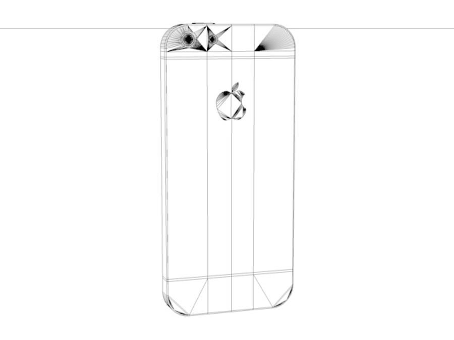 iPhone 5 royalty-free 3d model - Preview no. 6