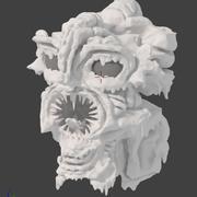 Erime Bataklığı Canavar Kafası 3d model