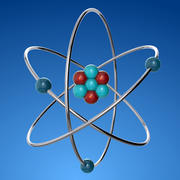 原子 3d model