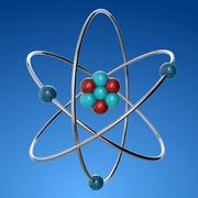 Átomo 3d model