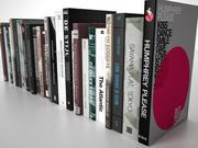 Books Group #3 3d model