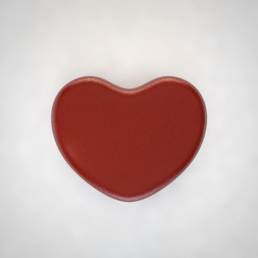 Heart Box royalty-free 3d model - Preview no. 5