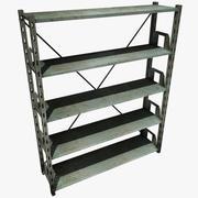 Metal Shelving 3d model